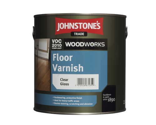 Лак для паркету JohnStone's Interior Floor Varnish Satin напівматовий